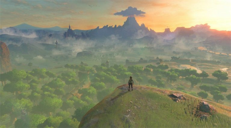 The Great Plateau in The Legend of Zelda: Breath of the Wild